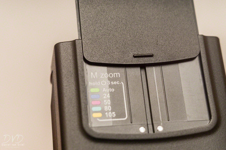Zoom Control of Nissin i40 Flash