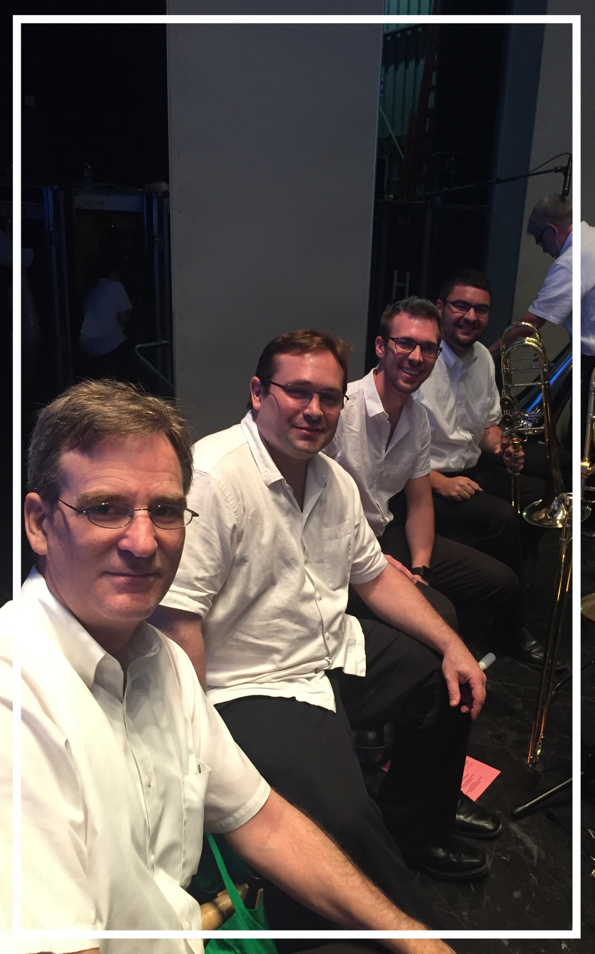 Houston Symphony Orchestra Trombone Section   Allen Barnhill, Principal Trombone  Brad White, Second/Associate Principal