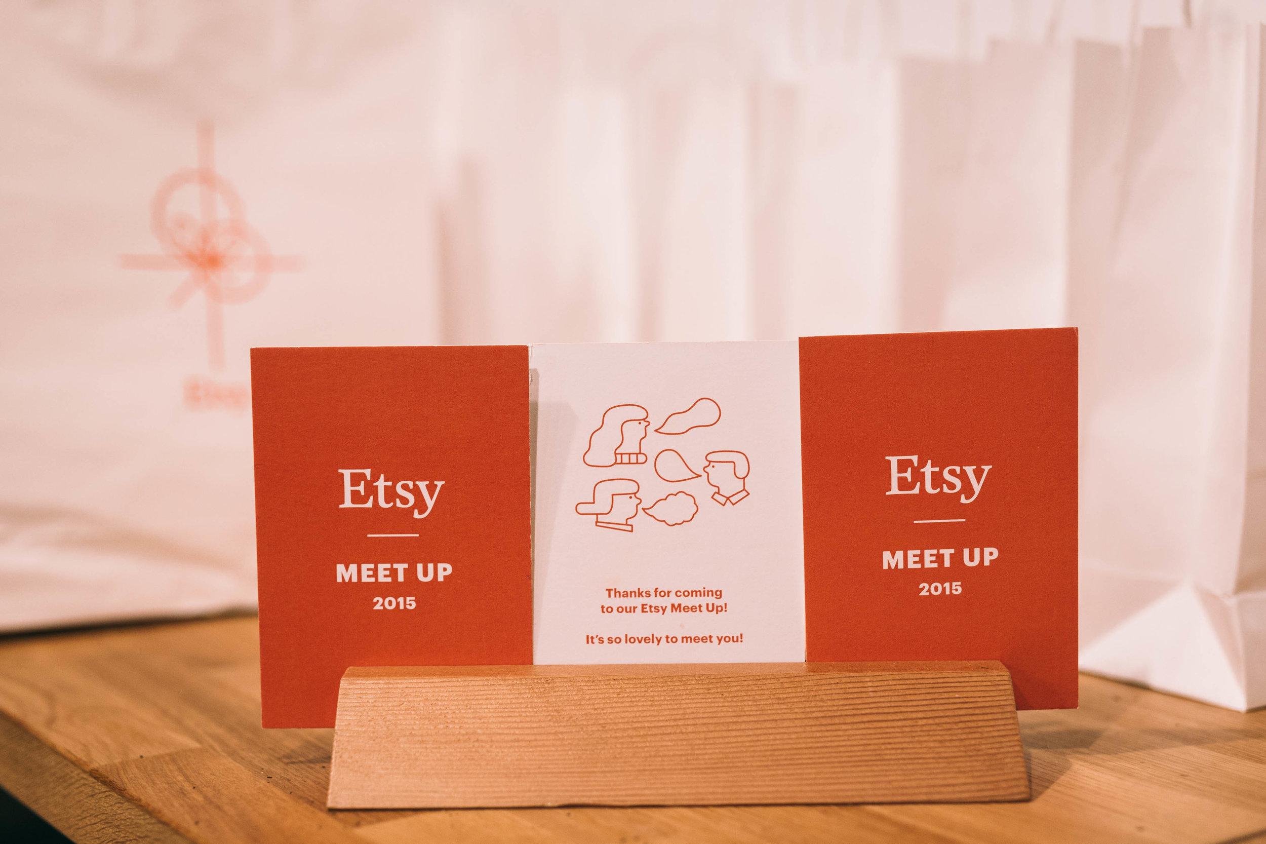 ETSY - MEET UP