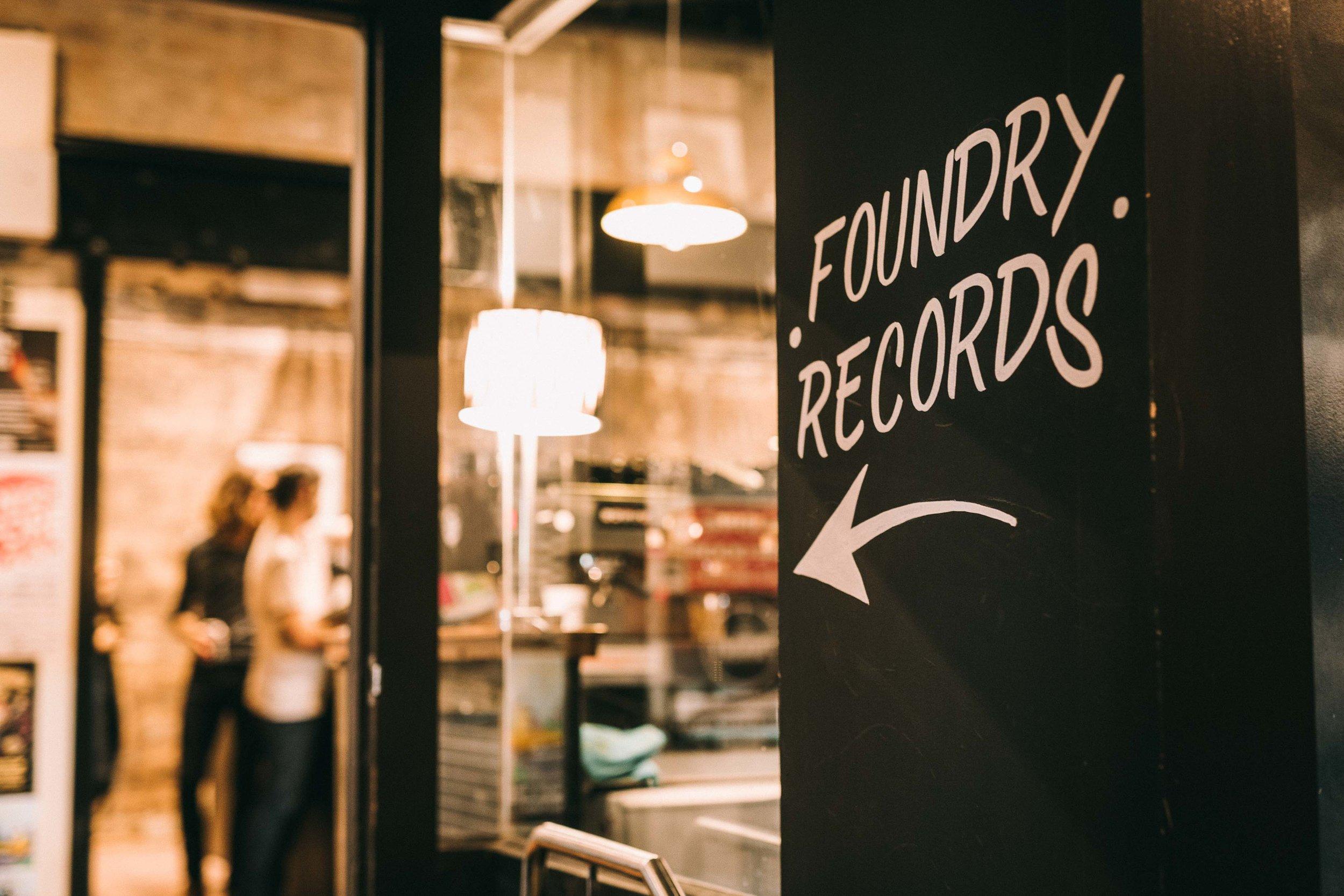 FOUNDRY RECORDS