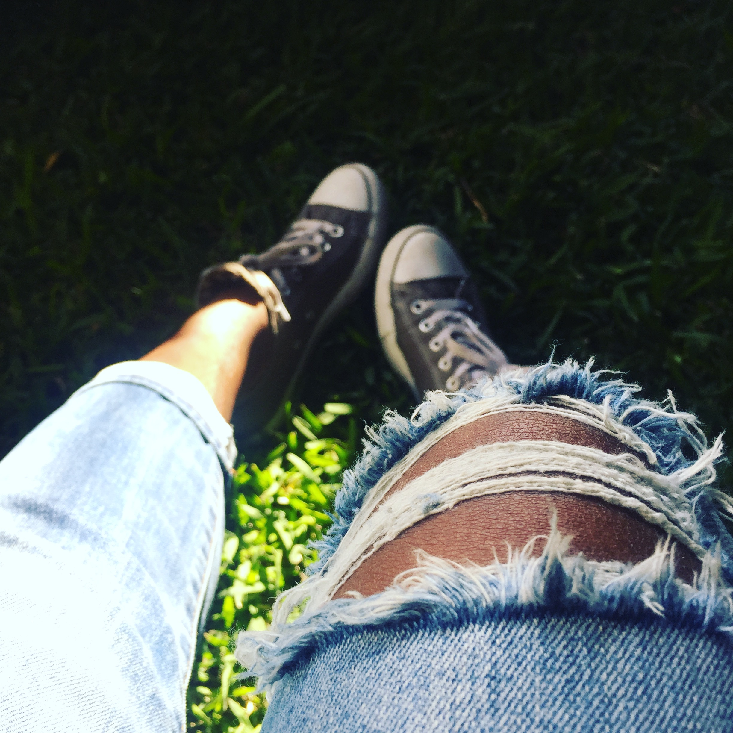 My favorite item in my closet are my Converse!