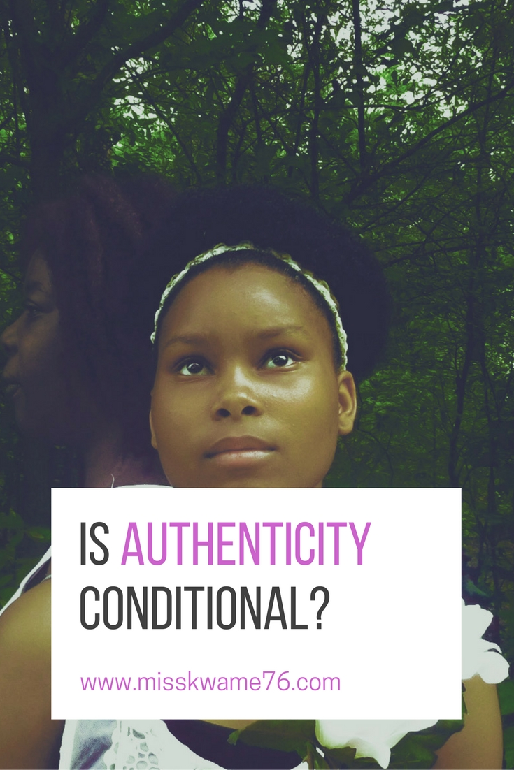 is authenticity conditional