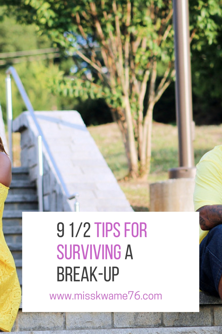 9 and a half tips for surviving a break-up