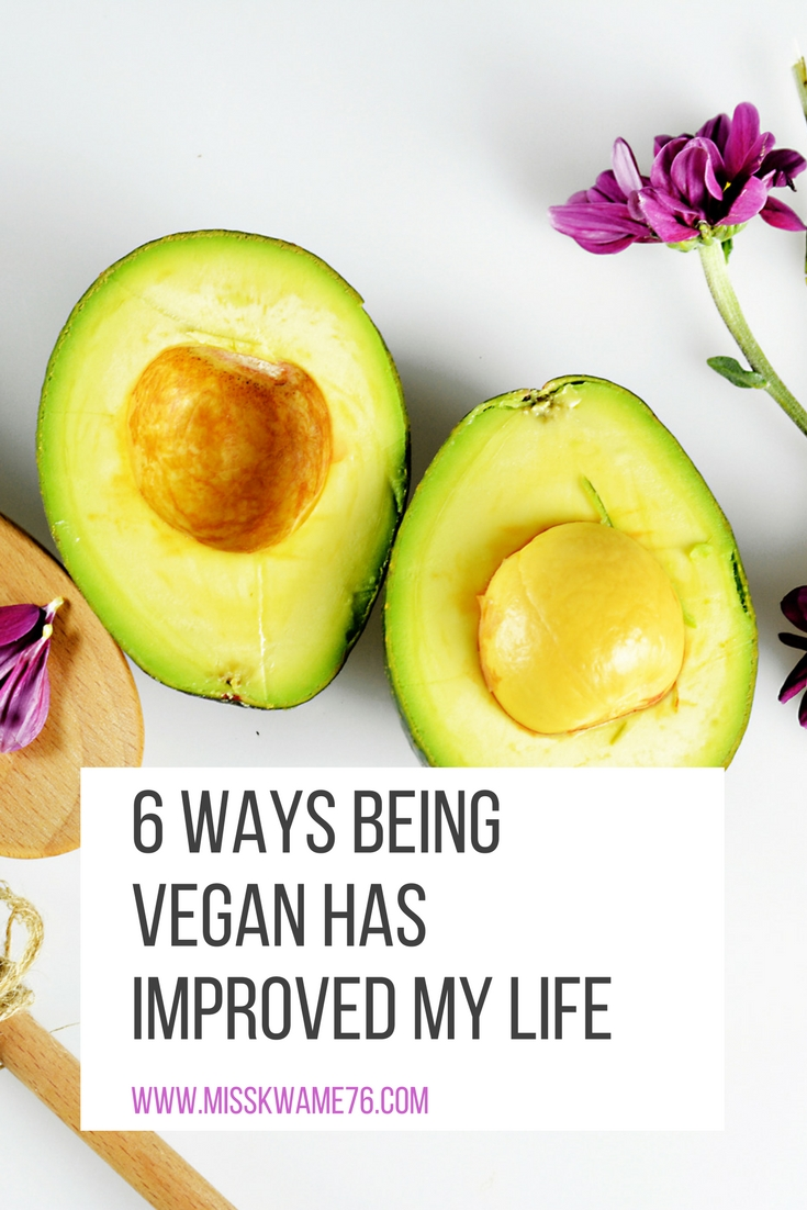 how being vegan has improved my life
