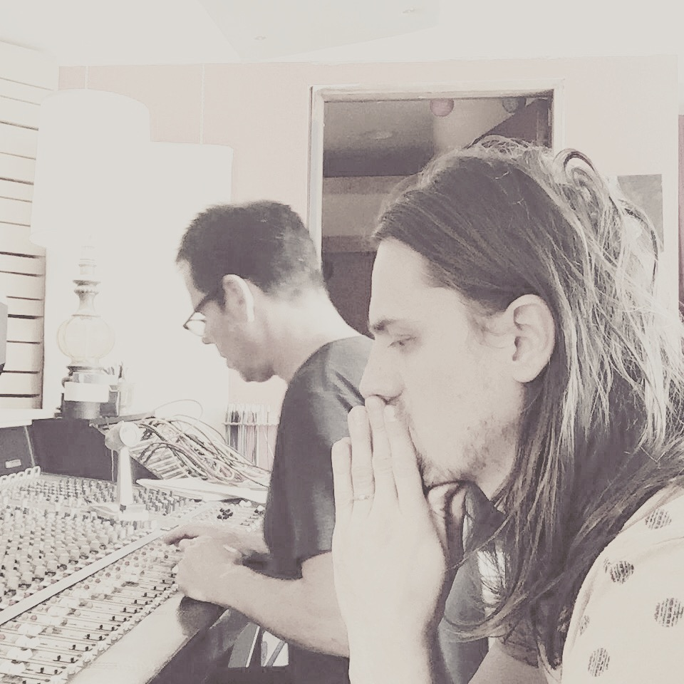 Matty and Johnny at the controls.JPG