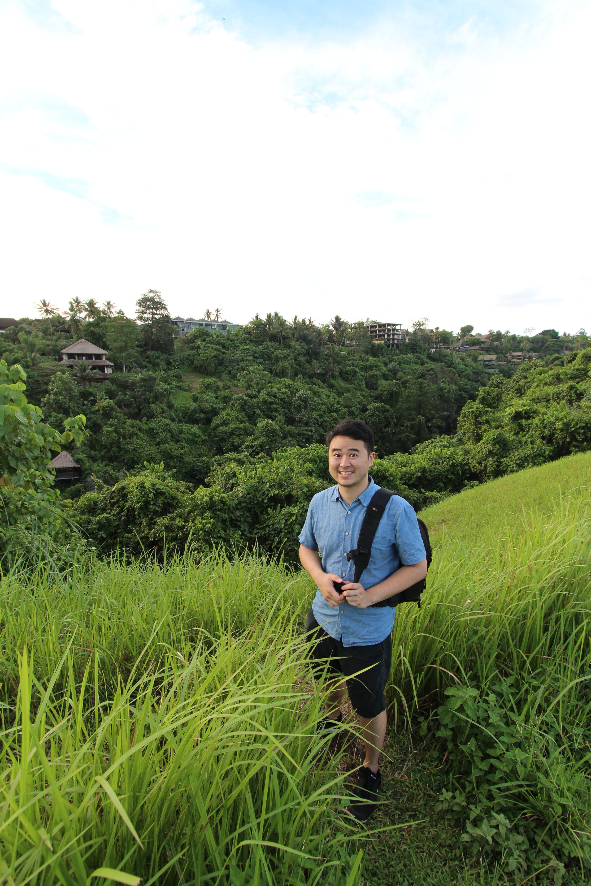 Me in Wazuka, Kyotoat the Obubu Tea Farms office.