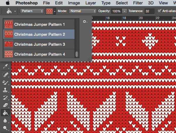 The download contains patterns for both Illustrator & Photoshop and includes vector swatches, seamless .PAT files and individual PNG images I don't know about you but I can't get enough of vector sweaters! Nuff said.
