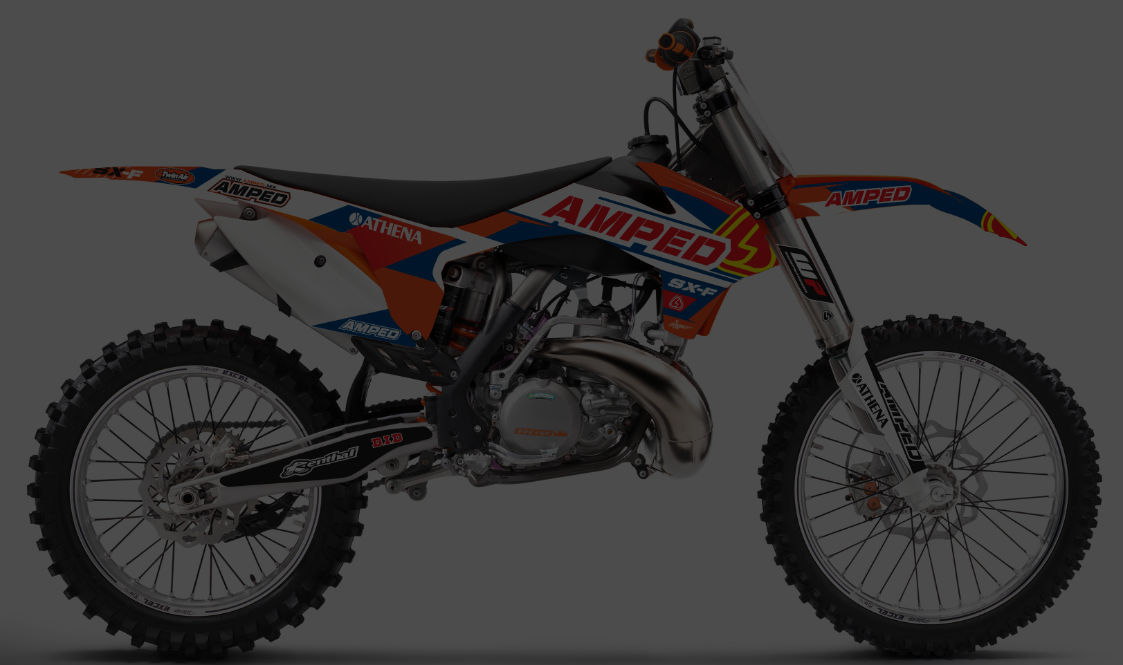 Amped FR   KTM Graphics    Shop KTM Graphics