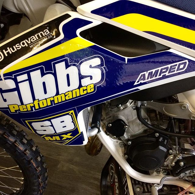 #_th0mas821_ Guna be looking fresh #thisisamped #stblazeymx #gibbsperformance #husqvarna1903