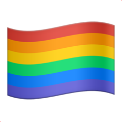 Rainbow Flag Emoji (in Apple devices)
