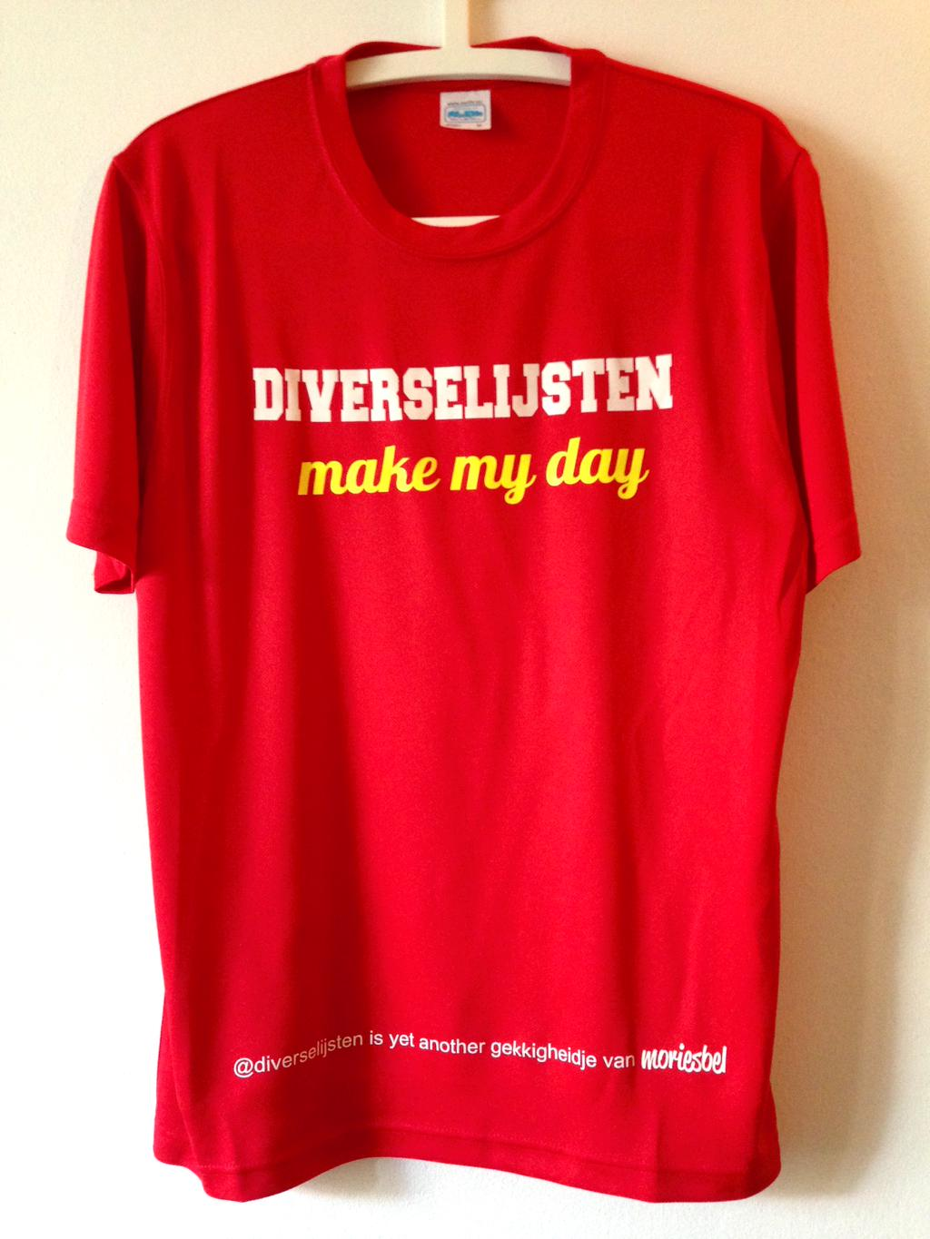 Het Diverse Lijsten Make May Day t-shirt