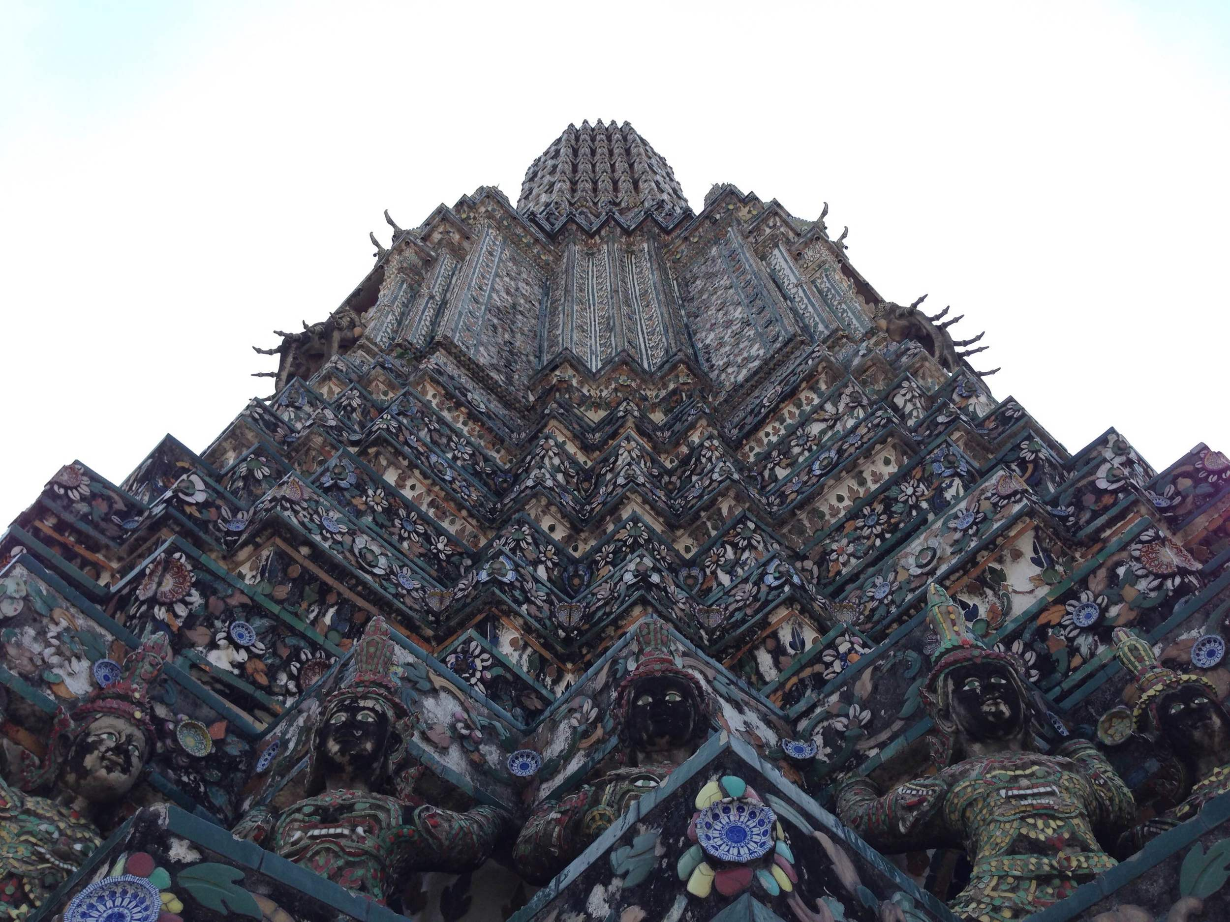 The beauty that is the understated Wat Arun, just across the Chao Phraya River.