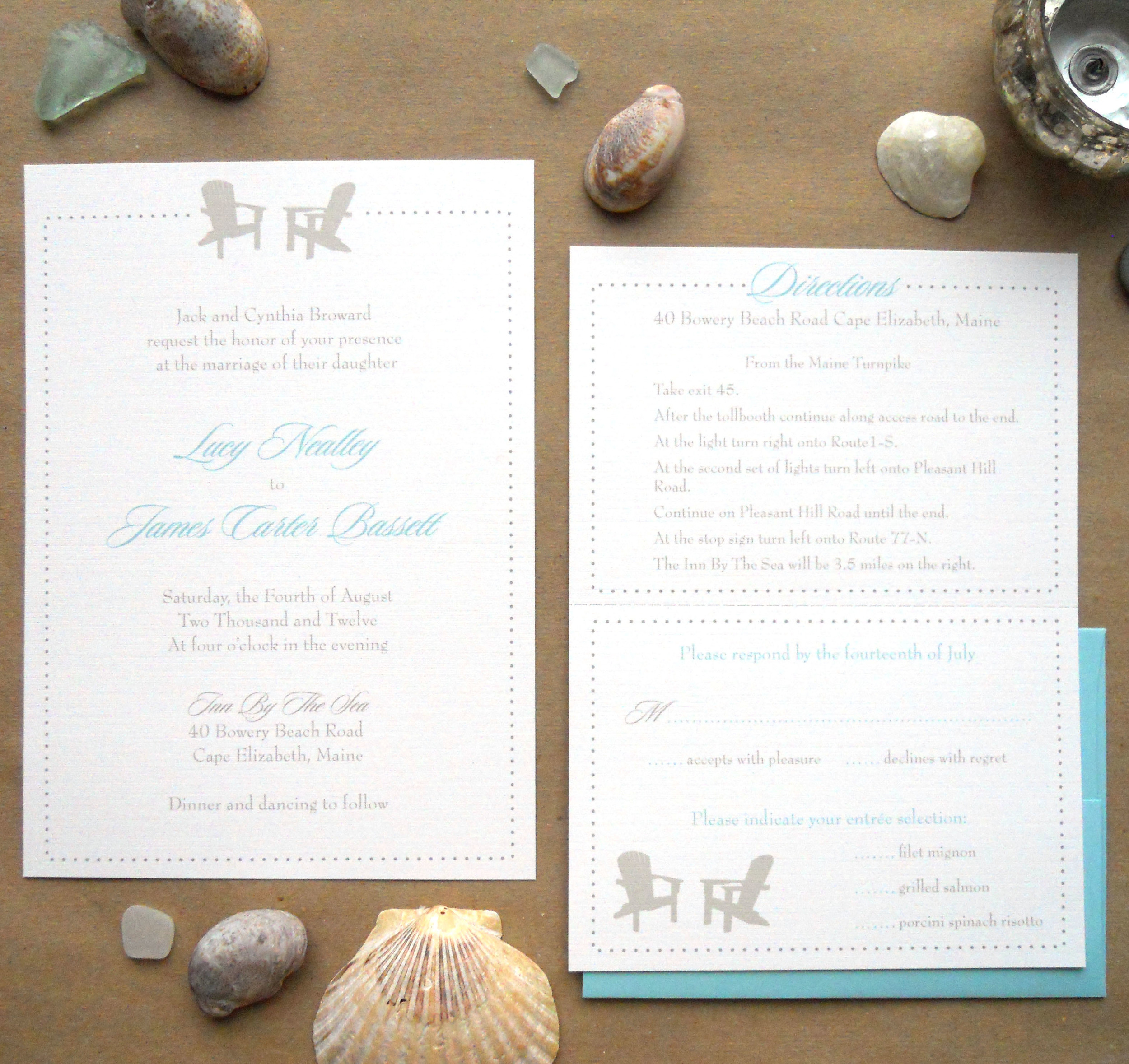 Lucy Invitation Suite