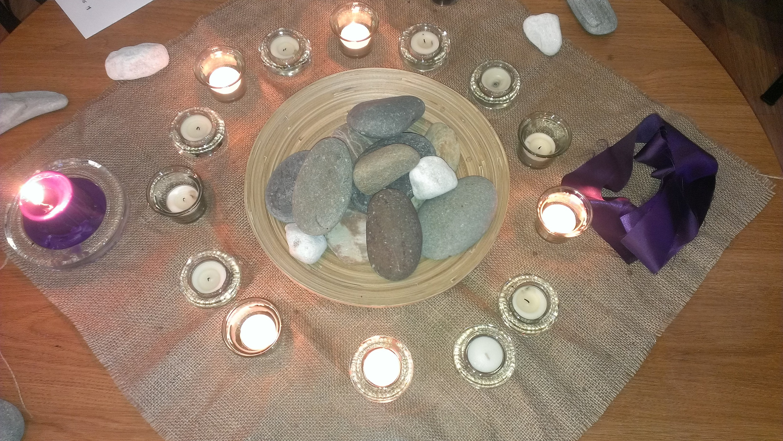 Our prayer table