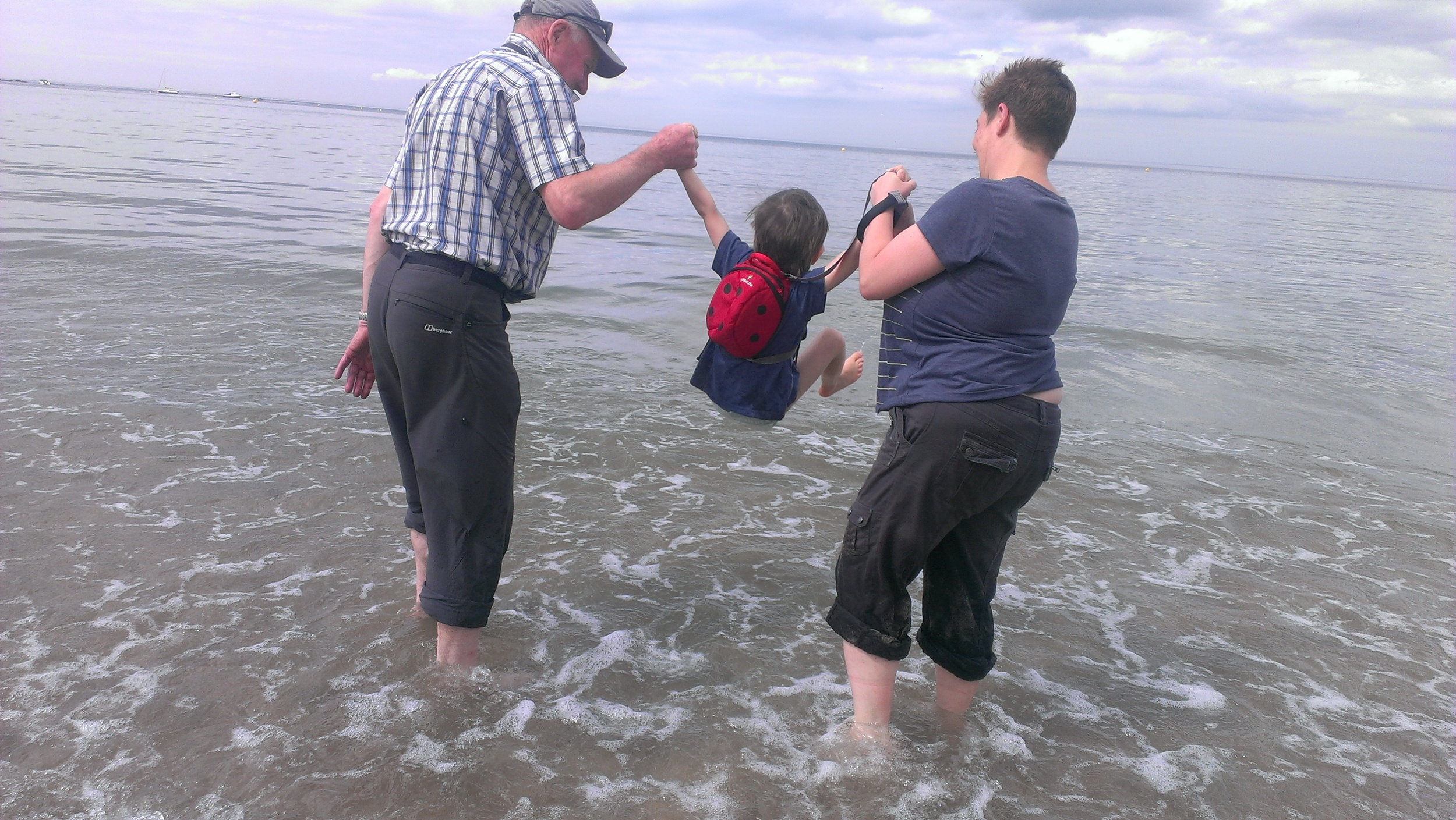 Parish family fun on pilgrimage