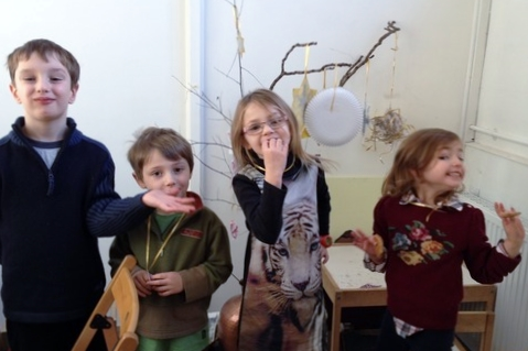 Fun with the FISH children's group