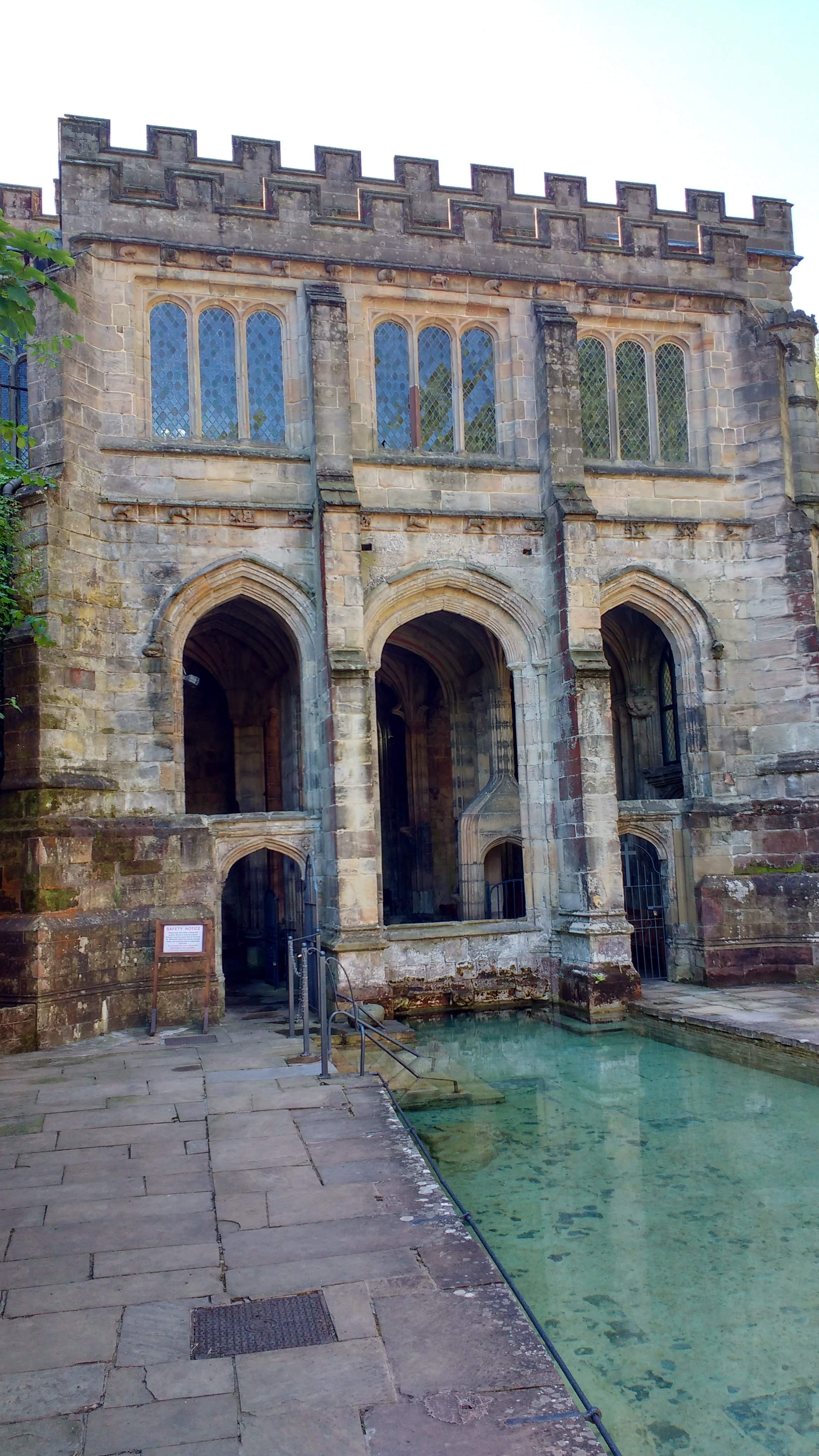St Winifred's Well Holywell