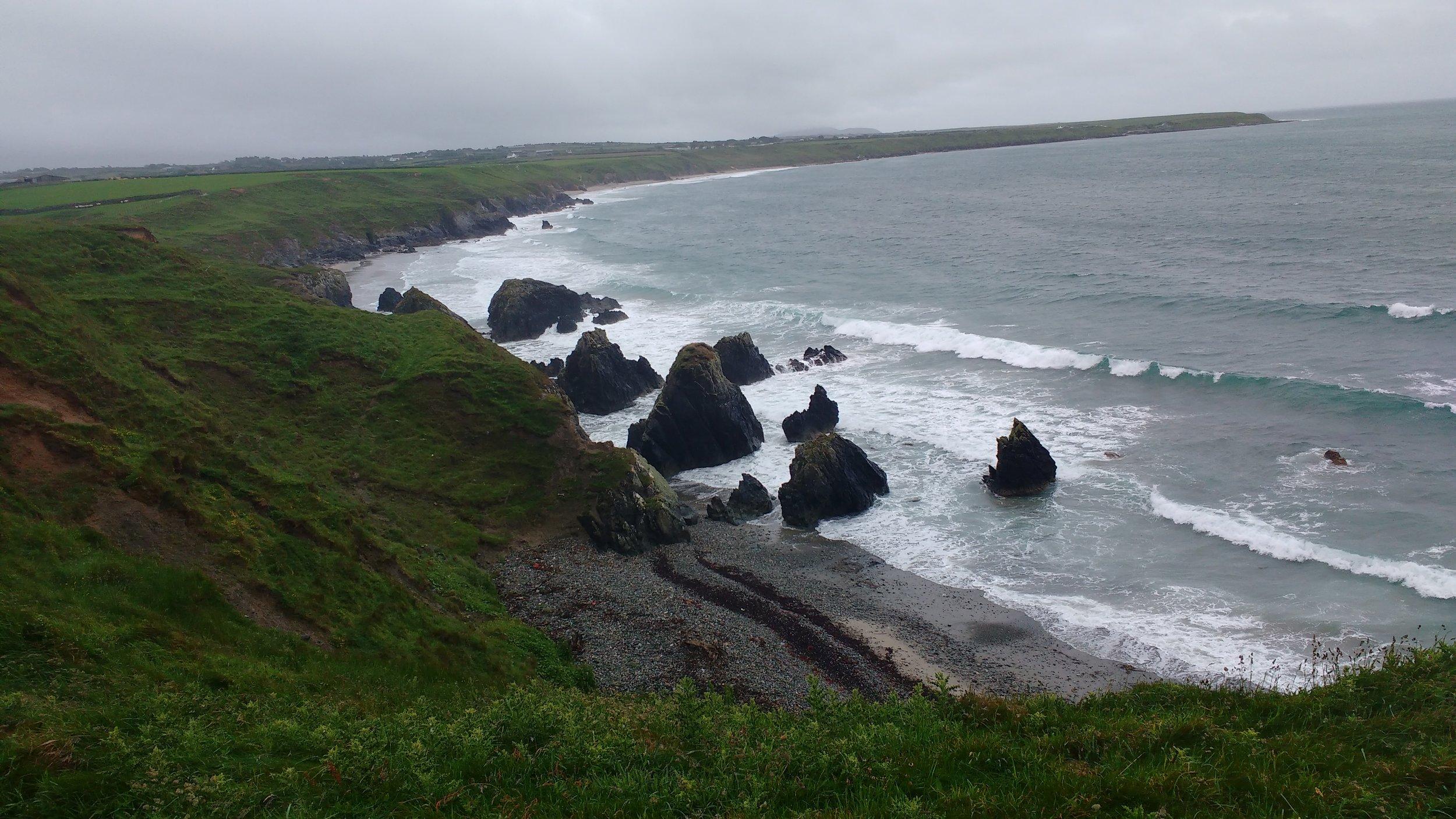 North coast of the Lleyn peninsula