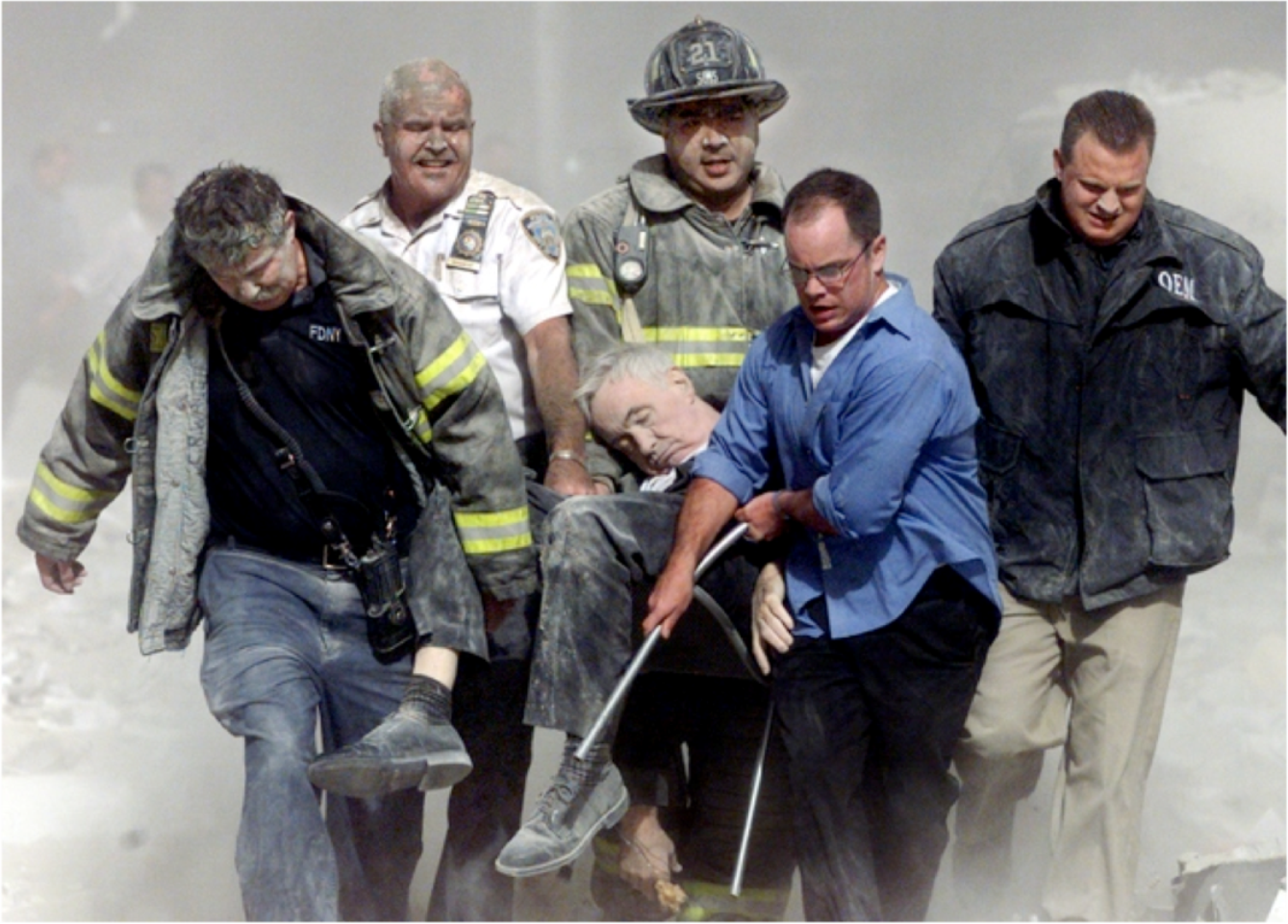 Fr Mychal Judge was the first recorded victim of the World Trade Center attacks in 2001