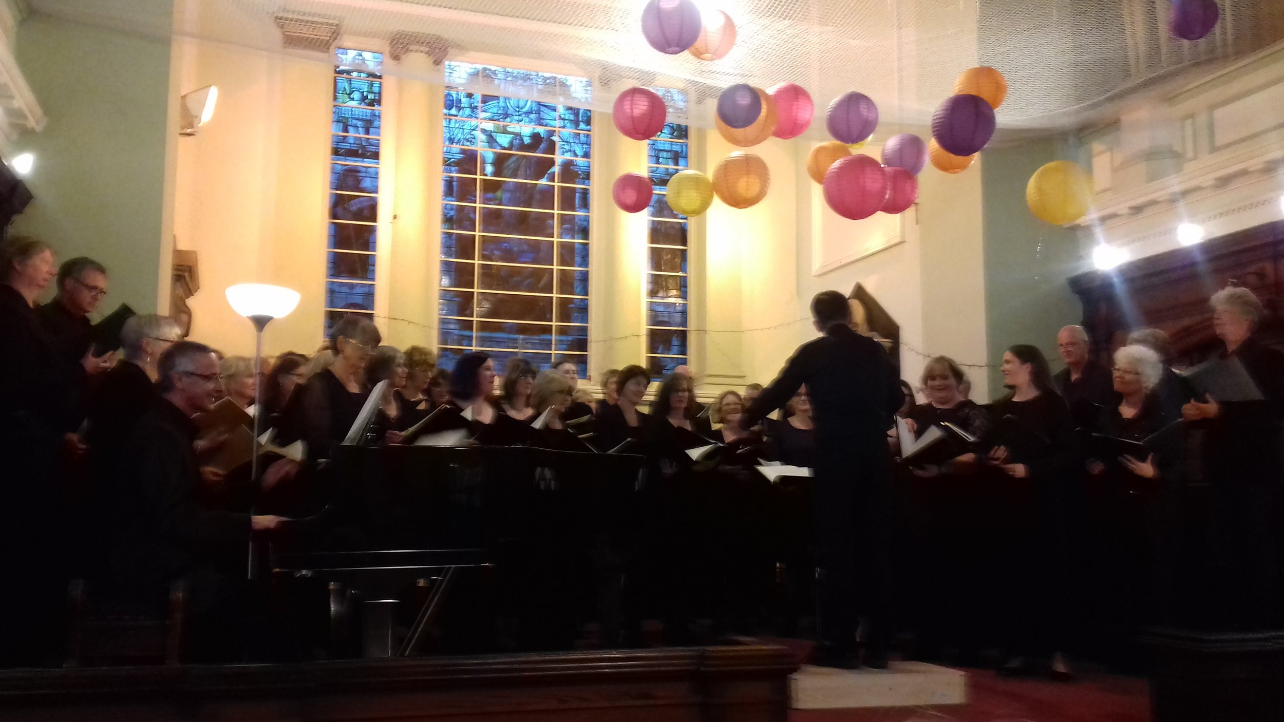 Great acoustics make our church an excellent performance venue