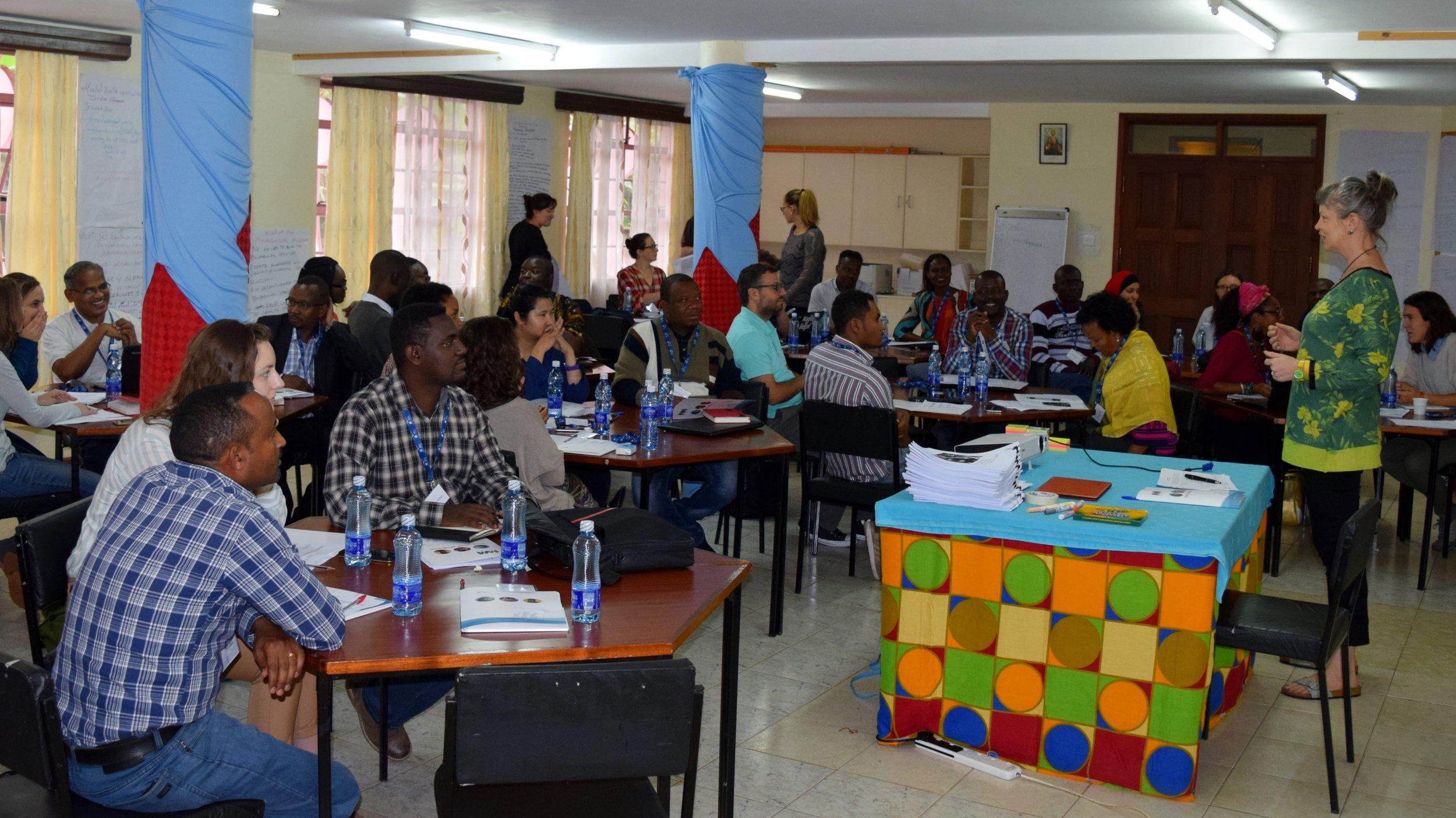 Jesuit Refugee Service mental health and psychosocial support workshop in Nairobi