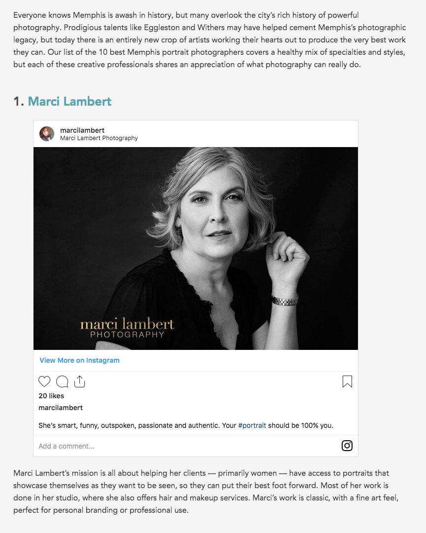 10 Best Photographers in Memphis  2019