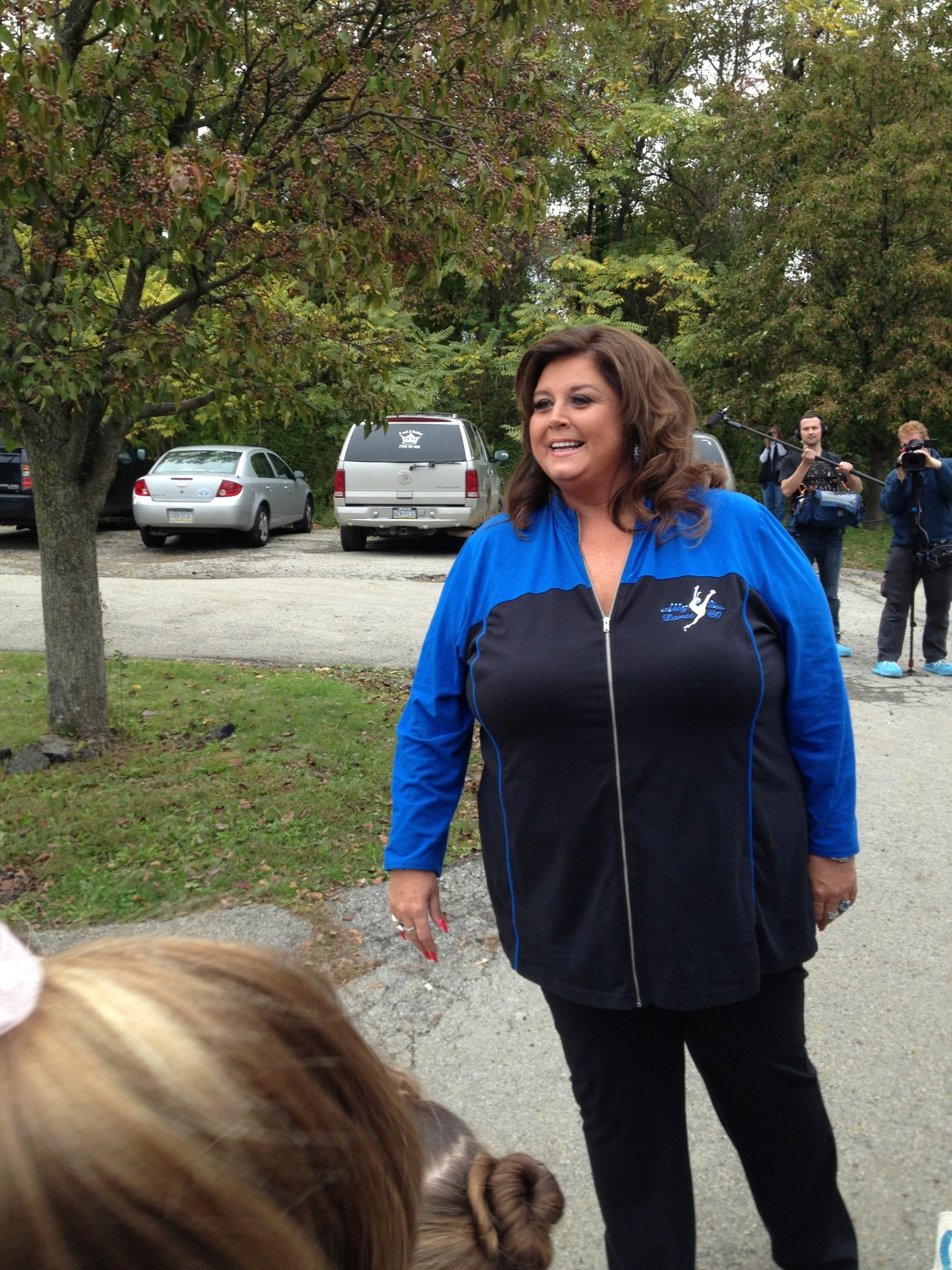 Abby Lee at ALDC auditions 2013.jpg