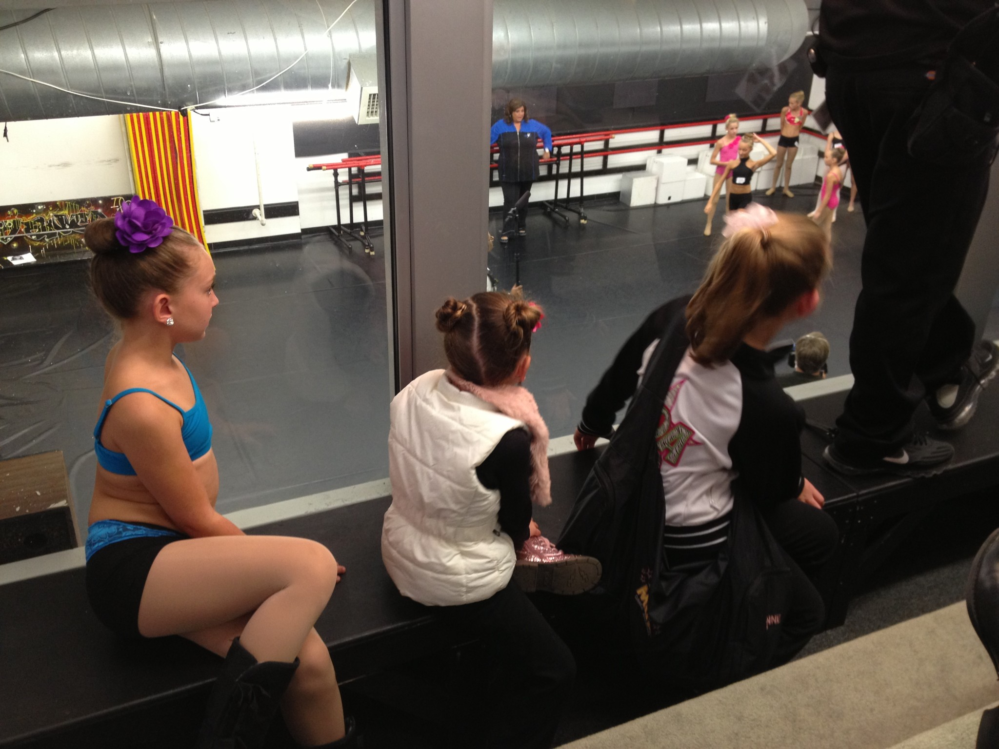 G watching from waiting room at ALDC 2013.jpg