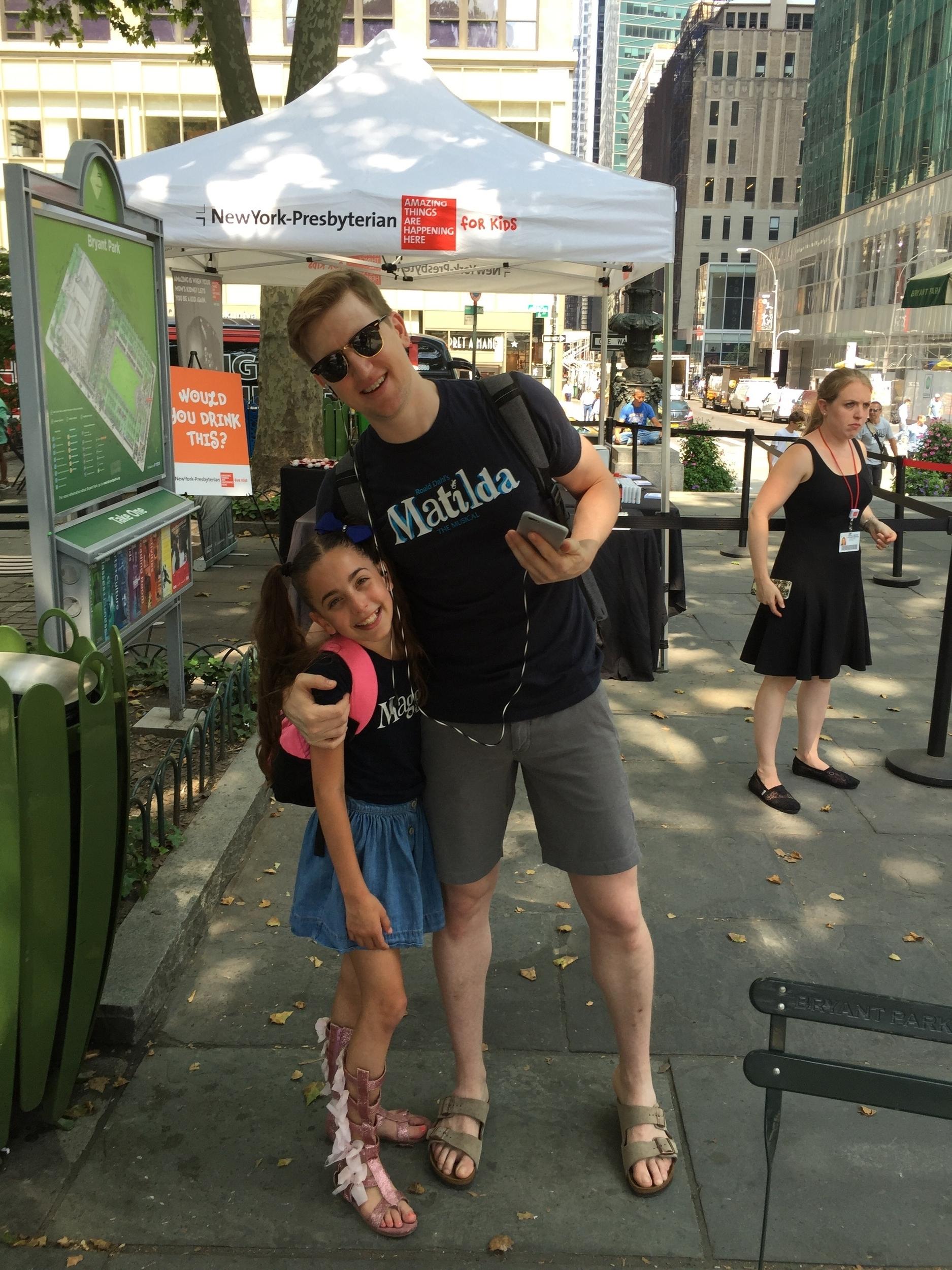 Gia and Travis posing Broadway at Bryant Park 2016.jpg