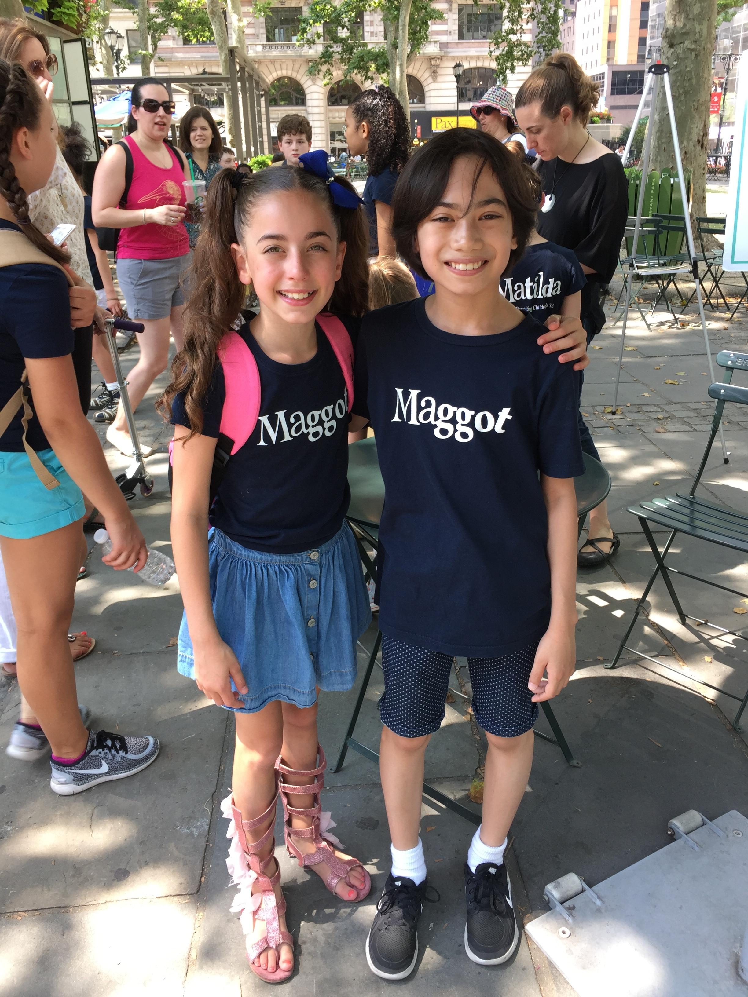 Gia and Ian  Broadway at Bryant Park 2016.JPG