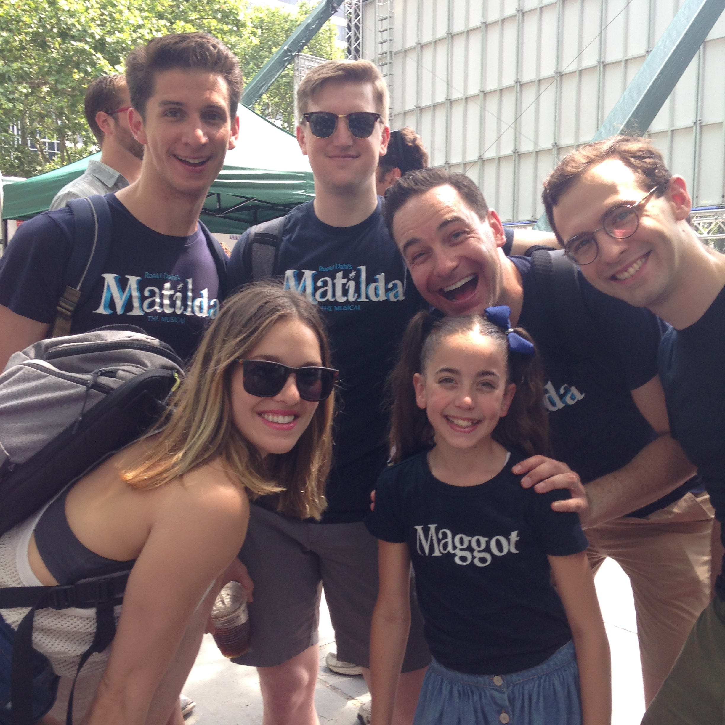 GiaNina with adult cast  Broadway at Bryant Park 2016.JPG