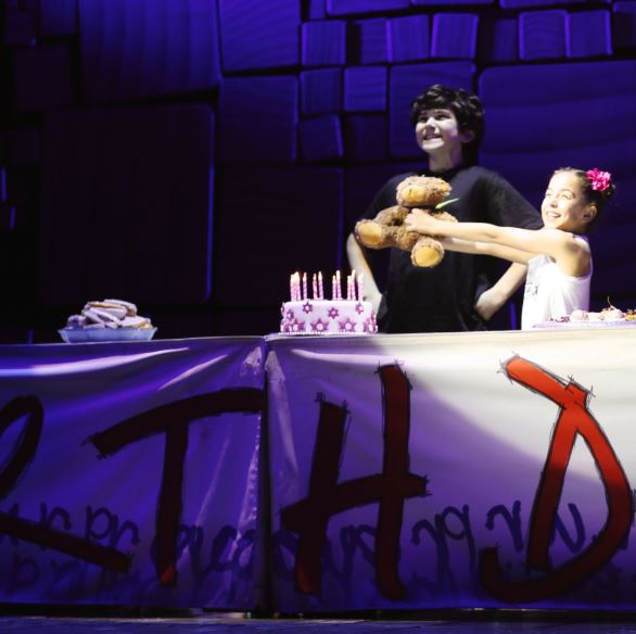 GiaNina and Benjamin during his put in birthday scene.JPG