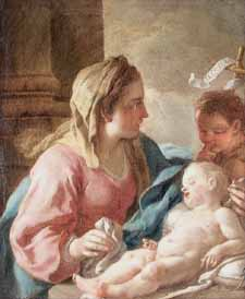 "Annibale Carracci 1560-1609 ""Madonna and Child"""