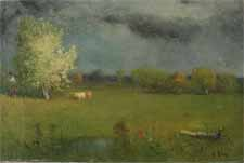 """George Inness """"Landscape"""""""