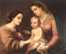 """Murillo """"Marriage of St. Catherine"""""""