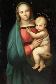 After Raphael Madonna del Granduca