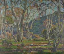 "William Wendt ""California Sycamores"""