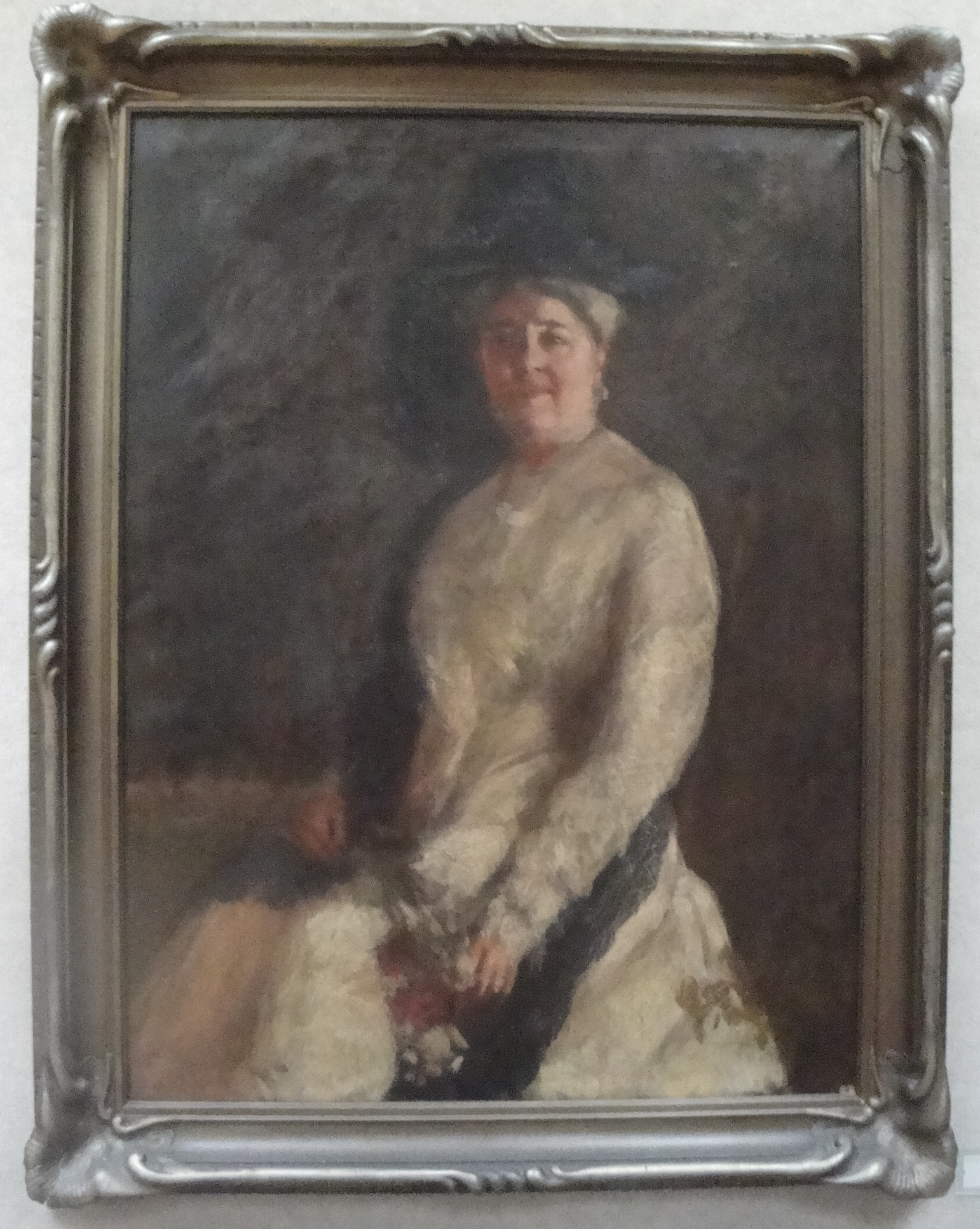 Portrait of Margaret Byers by William Edwards Cook 1881-1959