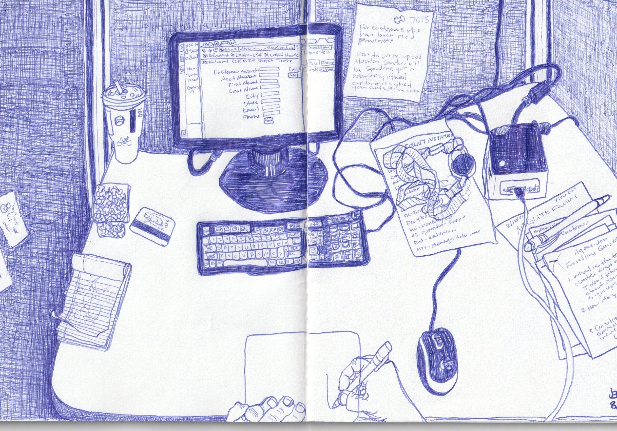 Work Sketch, 2019