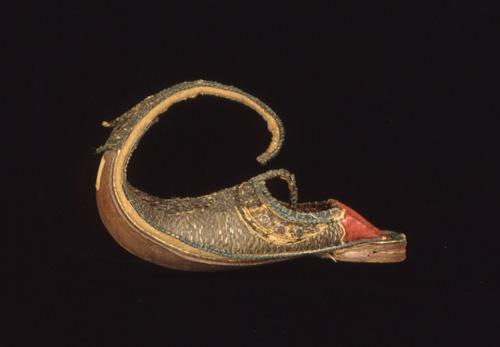 "Image of c. 1867 ""Turkish Slipper"" from   Peabody Museum"