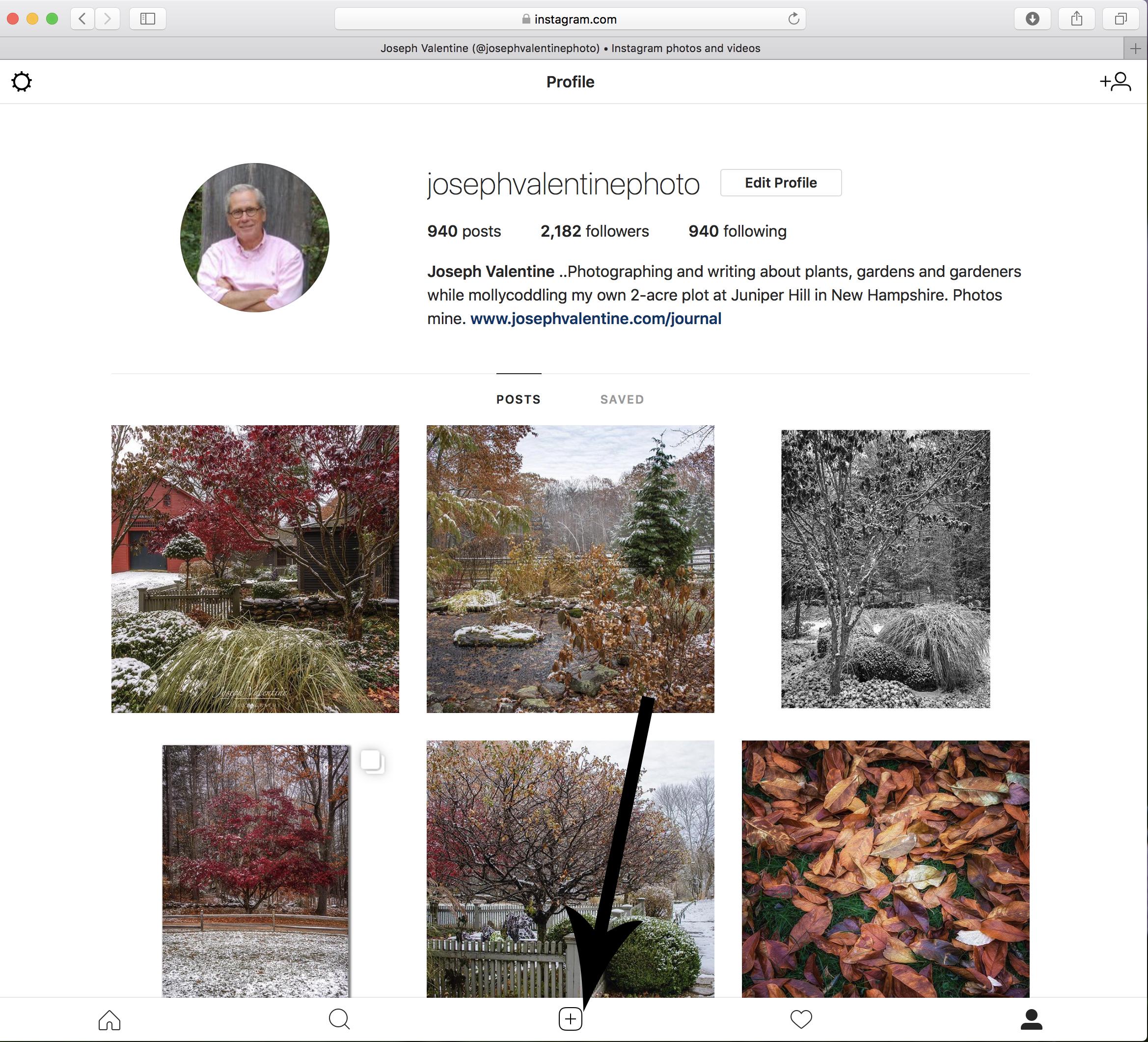 The Desktop/Laptop to Instagram Conundrum — Joseph Valentine