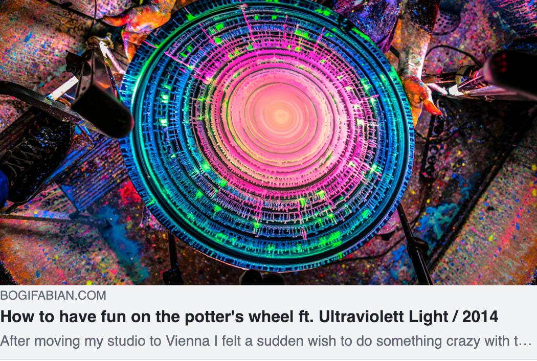 Bogi Fabian Potters wheel Tomi Bojnec