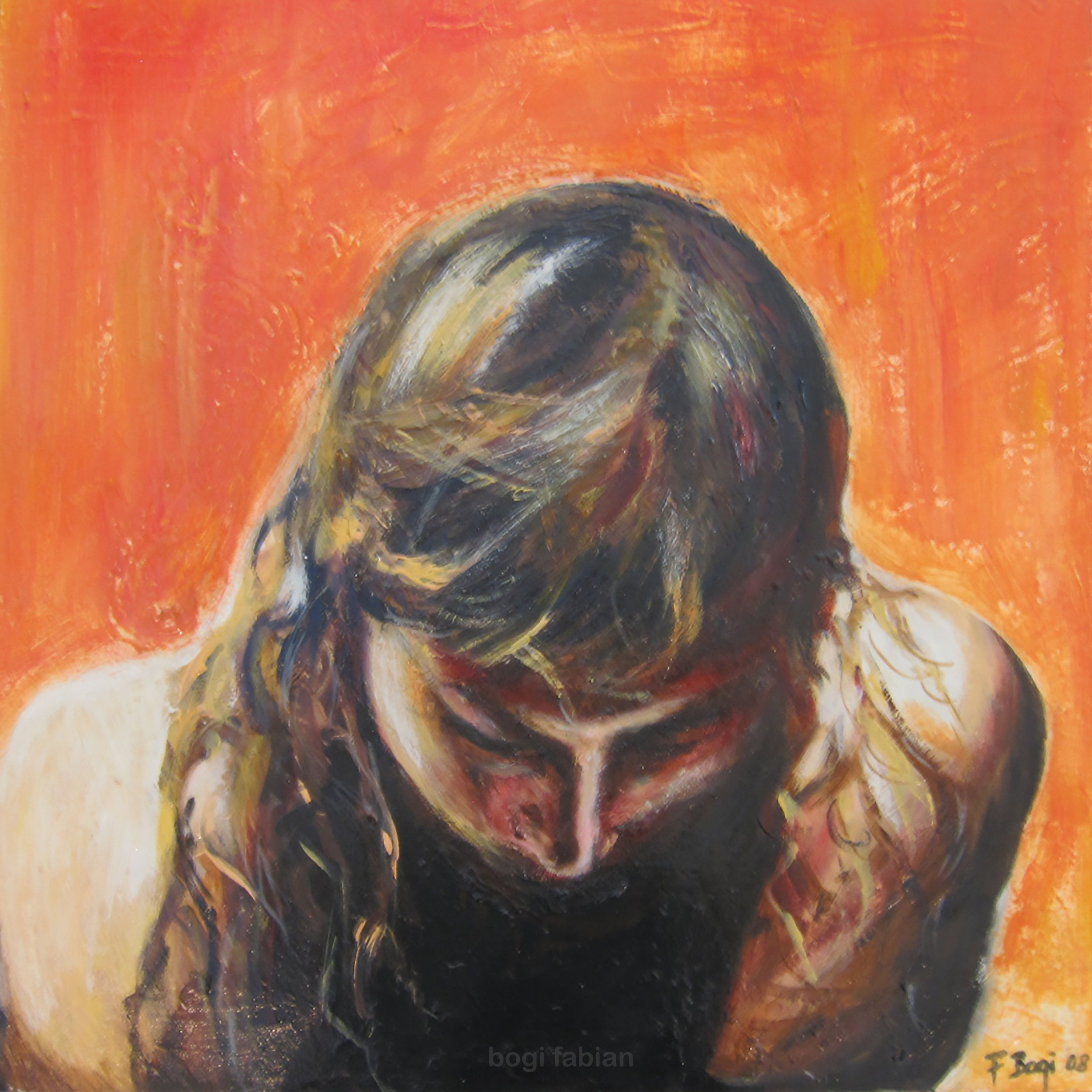 """Heavy Light"" 2008 / 50 x 50 cm Oil on canvas SOLD"