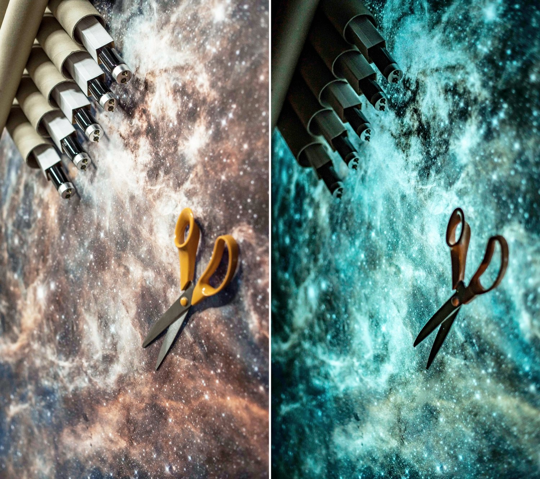 The future of Printing is Multiluminous / Glow In The Dark Prints by Bogi Fabian+Hubble+Telescope+glowing+print.jpeg