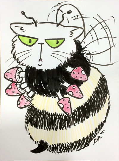 Fungal Cat Bee