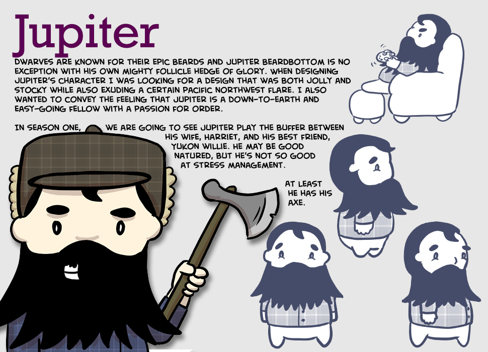 Dwarf for for Over-Encumbered comic