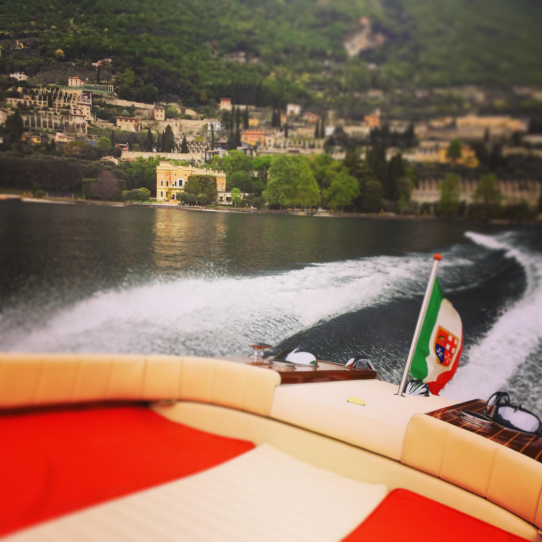 Lake Garda by private Riva Yacht