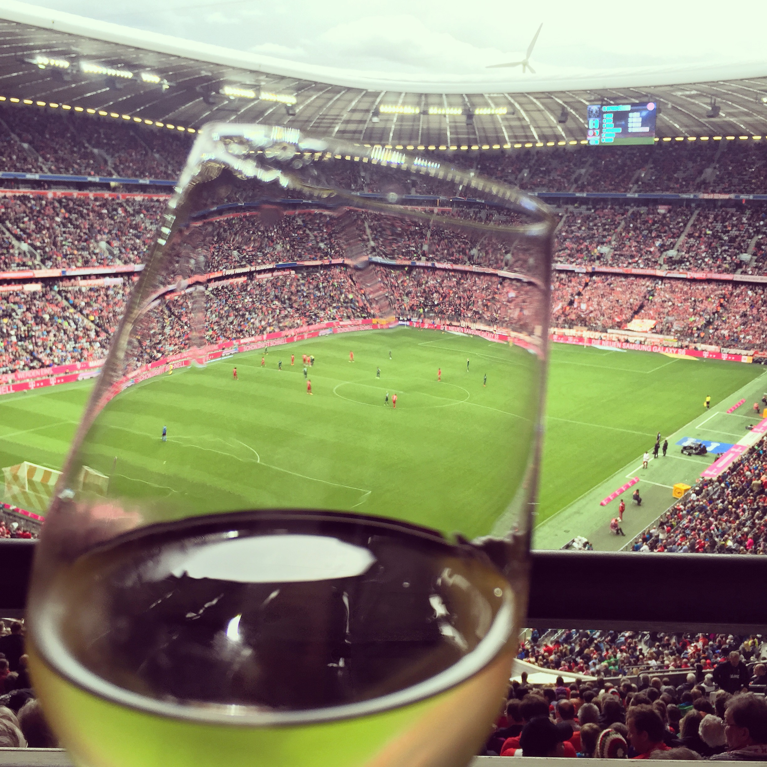 The most exclusive way to watch a football match - Bayern München VIP Lounge