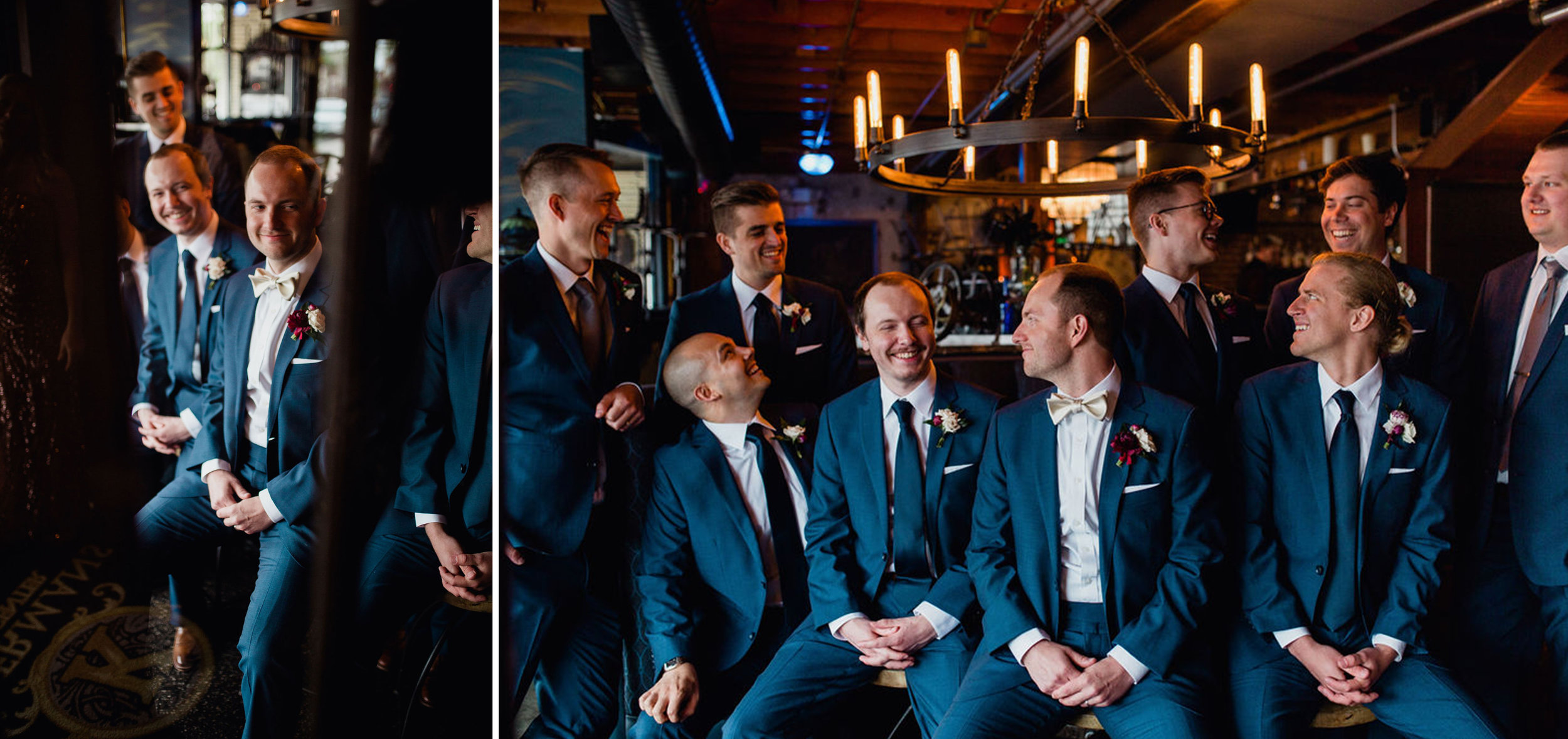 27 grooms men best man first look rachel desjardins studio wedding story telling moments photography kellermans event center minnesota.jpg