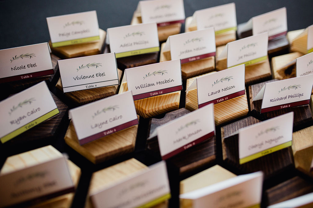 58 table markers namecards names handmade cards ceremony rachel desjardins studio wedding story telling moments photography kellermans event center minnesota emotional.jpg